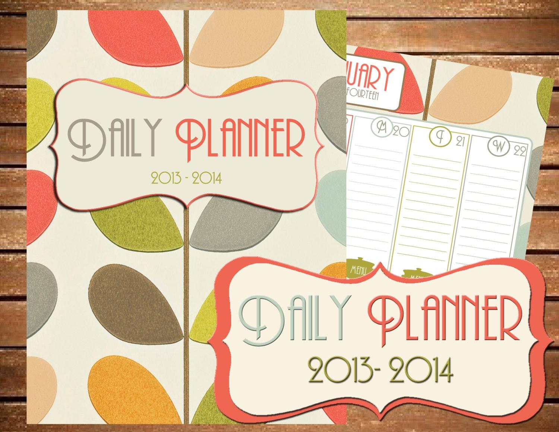 Printable Daily Planner 2014 2014 printable planner