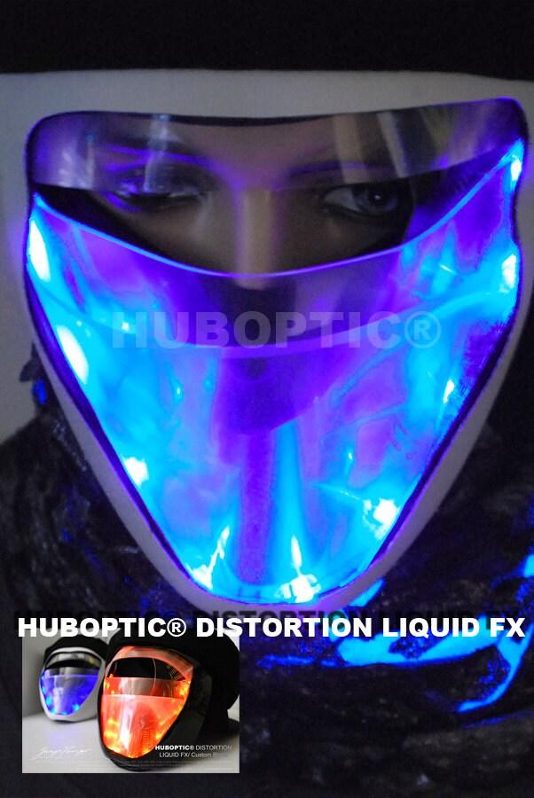 Liquid Fx Light Up Mask Led Mask For Scifi Robot Cosplay Bot