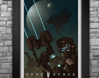 """Dead Space inspired 12.25x17.25"""" Print"""