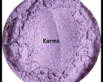 Karma Mineral Makeup Eyeshadow Purple Eye Shadow 1 gram