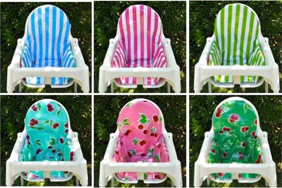 Ikea Toddler Bed Mattress Pad ~ FAIT sur commande  coussin réversible pour Ikea chaise haute Antilop