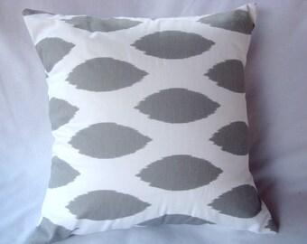 Grey Pillow. Throw Pillow. Pillow Cover. Accent Pillow. Cushion Cover. Modern Pillow