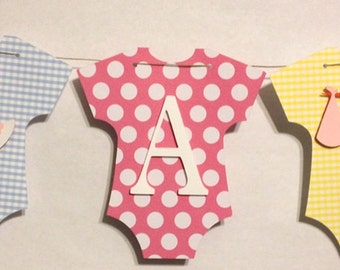 It's A Girl Baby Banner, Baby Shower Decorations, Party Decorations, Stork Theme, Pastel Theme