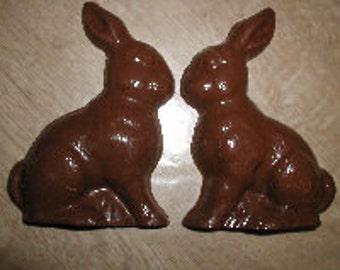 Sitting Bunny,  Medium 3D Assembly Chocolate Mold
