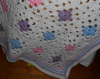 Baby Afghan Granny squares  No. 1002