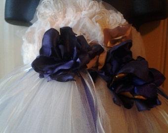Romantic Flower Girl Tutu Dress