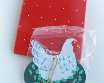 12 Days of Christmas Three French Hens Ornament