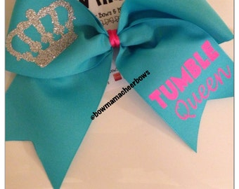 Tumble Queen Cheer Bow