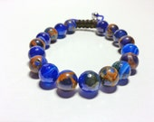 Agate shamalla bracelet