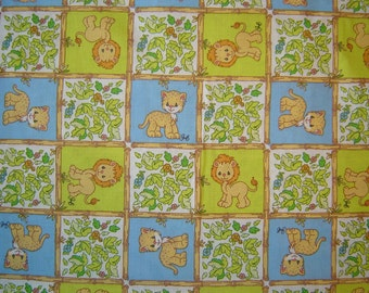 SALE!! Precious Moments Lion Leopard Fabric From SPX By the Yard