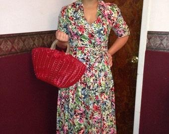 J G Hook muti color spring /summer dress