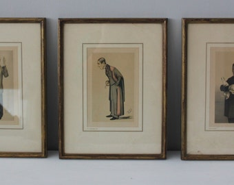 Early 20th C Vanity Fair Spy Prints