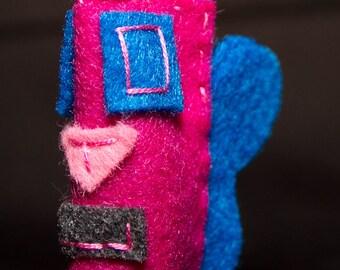Annie - finger puppet