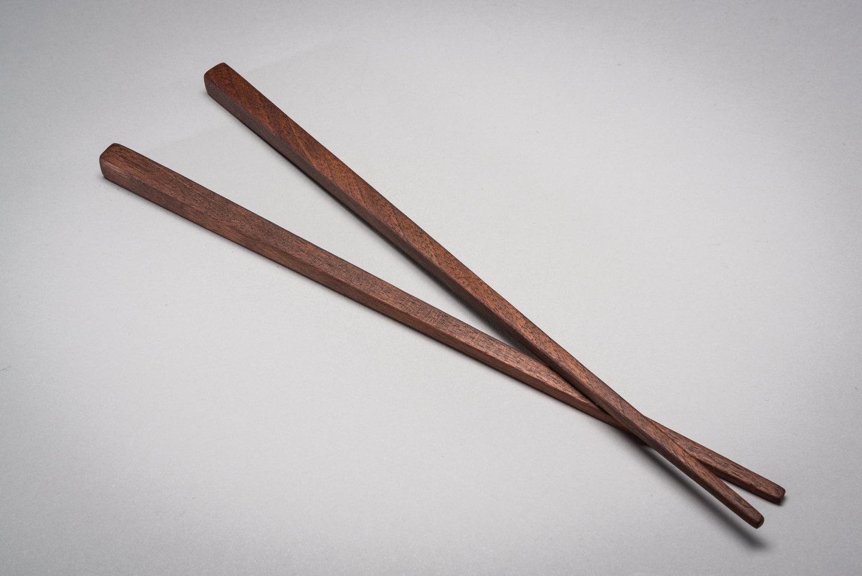 Black Kitchen Black Walnut Chopsticks