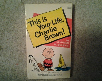 This Is Your Life, Charlie Brown! - Vintage Peanuts Book