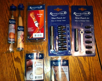 Realeather - (leather working tools) New