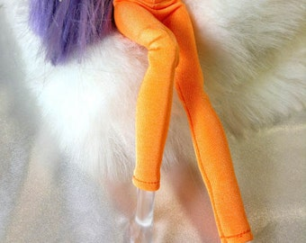 Tight pants/leggings/clothes for Monster high doll - Fluorescent orange No: 703