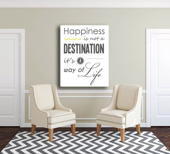 Custom Canvas wall art quote for home sign gift home decor