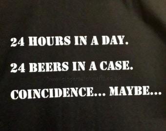 Humorous T-Shirt - 'Beer'