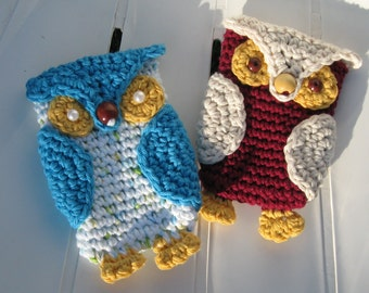 Owl Cell Phone Cozy