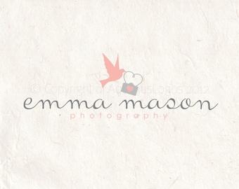 Photography logo design - photography Watermark camera logo bird camera logo
