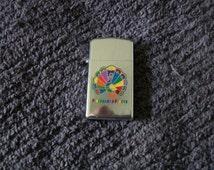 Vintage Lighter Zippo  Rare Pittsburgh Paints Zippo Lighter  Seldomer Seen Scarce Fantastic Graphics Zippo
