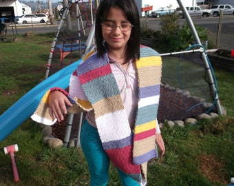 10 Foot Dr. Who Scarf For Kids