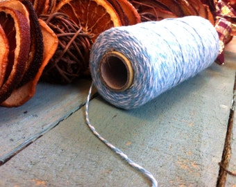 Blue Bakers/Butchers Twine - Craft Supplies