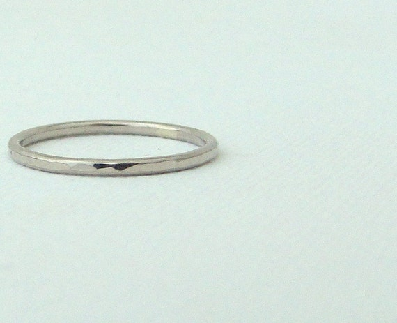 thin wedding band palladium wedding ring palladium wedding