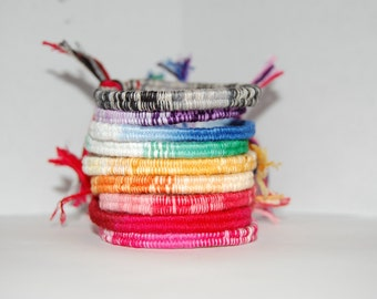 Wrapped Friendship Bracelets