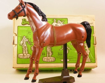 Dancer Barbies Horse With Original Box 1970 Vintage