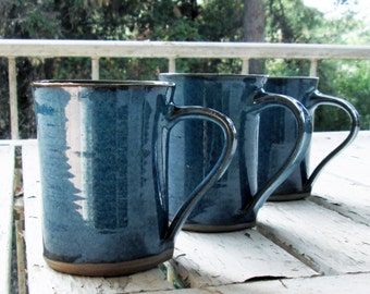 SPECIAL OFFER,Buy 3 get 1 for free - Ceramic Mugs -  Handmade Pottery