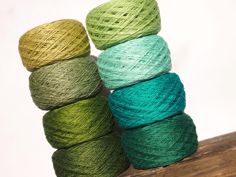 8 Balls Natural Linen Yarn High Quality Linen Yarn For