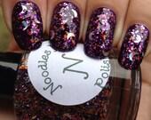 Sleepy Hollow-Glitter Topper Indie Halloween Nail Polish