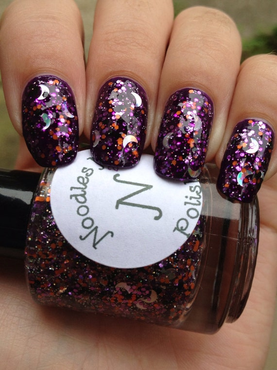 Sleepy Hollow-Glitter Topper Indie Halloween Nail Polish