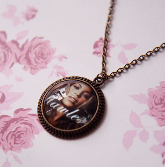 beyonc 233 flawless necklace by thegirlcollective on etsy