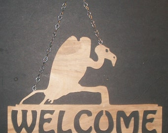 Vulture Welcome Sign
