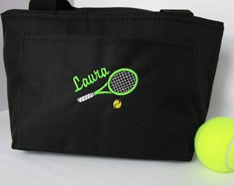 "Tennis Cooler ""Six Pack Tennis Cooler in Black #317"