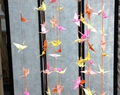 Origami Crane Mobile Escort Card