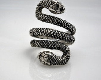 sterling silver snake ring - MOUG creations