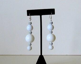 Mod style vintage earrings (RR11)