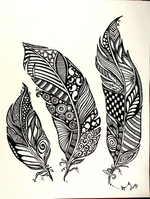 Tattoo random pinterest flower tattoos lotus flower tattoos and - Abstracto Arte Dibujo Abstracto Ertida Pluma Dibujo De