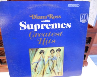Diana Ross and the Supremes Greatest Hits 2 X vinyl Record