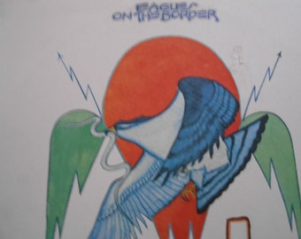The Eagles - On The Border - vinyl record