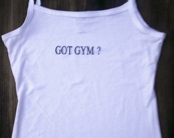 GOT GYM Camisole Tank