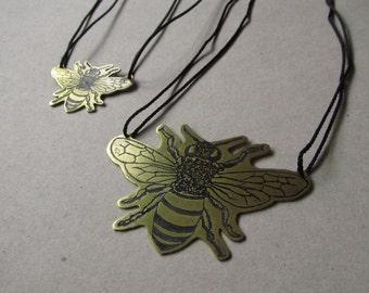 Honeybee Necklace.