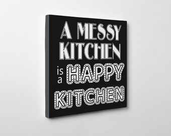 Kitchen Art, Canvas