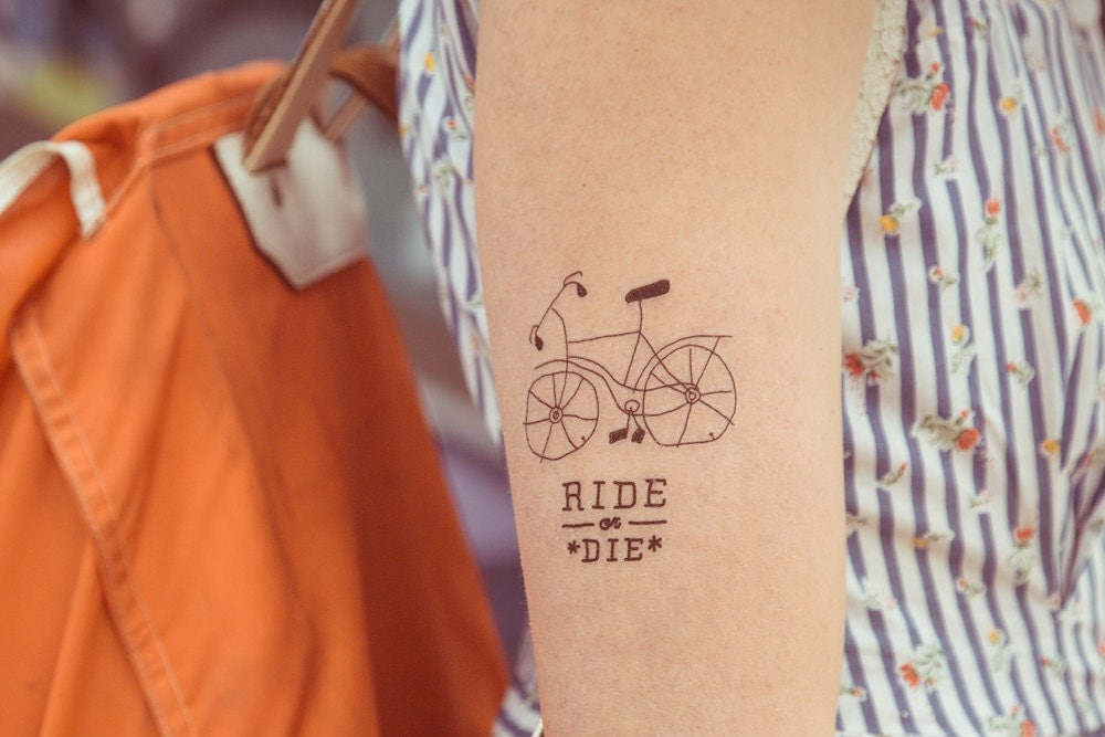 Temporary tattoo ride or die for Ride or die tattoo