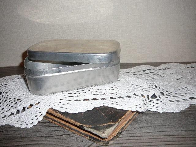 schwedische aluminium aufbewahrungsbox mit deckel non rost. Black Bedroom Furniture Sets. Home Design Ideas