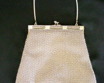 Lumared Golden Petite Bead Bag / Purse Made in USA - Patented - 2890